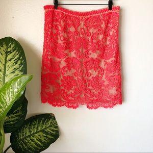 Anthropologie | Sunblaze Embroidered Skirt